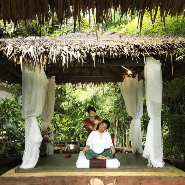 Wellness massage at Spa 9 Hornbills Adult only Glamping Koh Yao