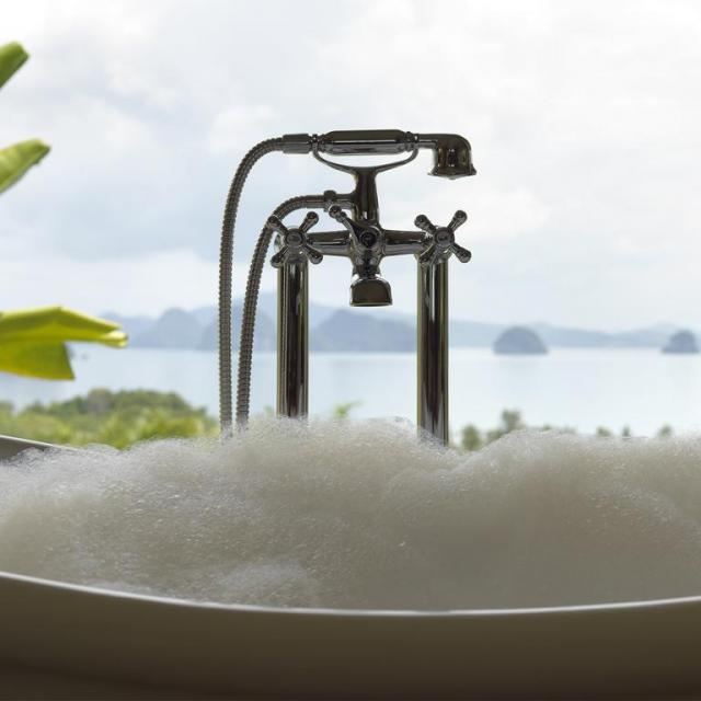 Bubble bath at 9 Hornbills Adult only Glamping Koh Yao