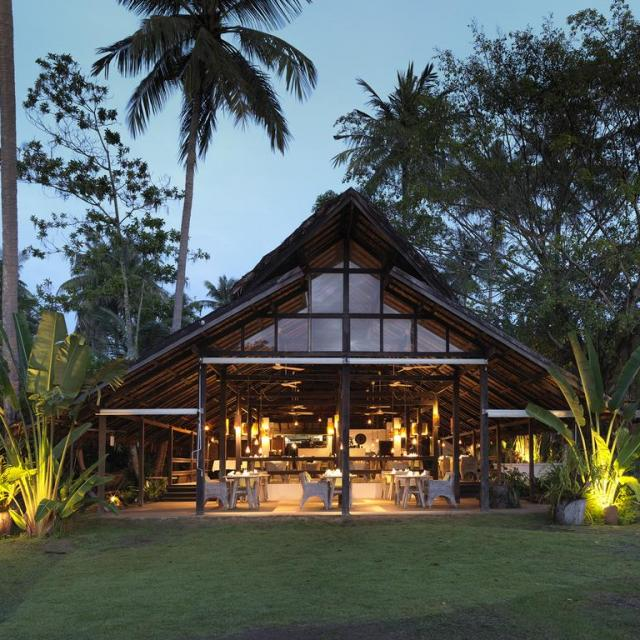 Resturant at 9 Hornbills Adult only Glamping Koh Yao